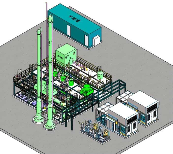 Mini LNG Plant System