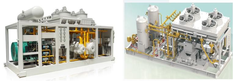GAS COMPRESSOR MODULE