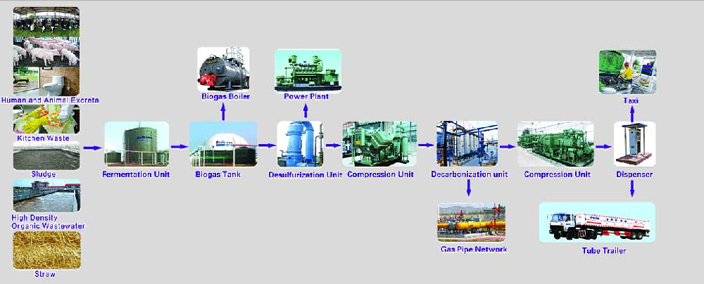 Biogas System Solution