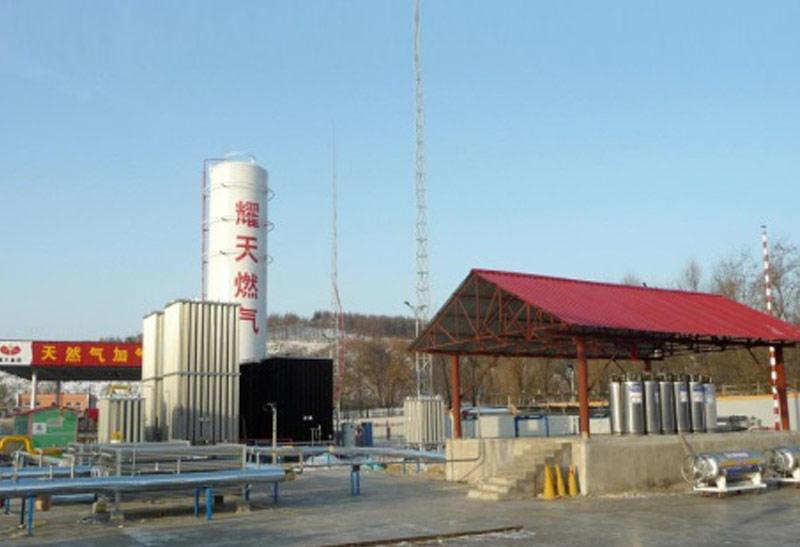 L-CNG станции сжиженного газа
